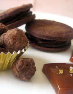 Chocolate Caramel Mignardises