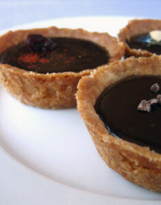 Bittersweet Chocolate Tartlets