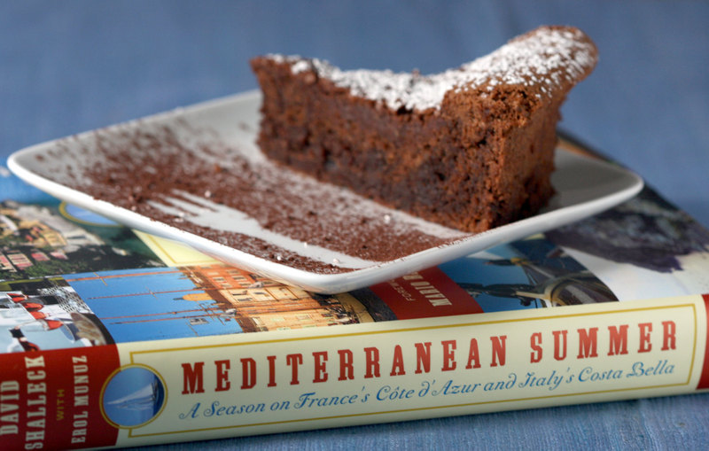 {Book Review} Dreaming of the Mediterranean - Dessert First