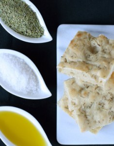 Daring Bakers Challenge: Tender Potato Foccacia