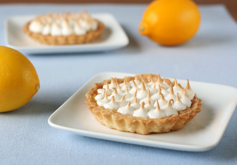 Daring Bakers Challenge: Lemon Meringue Lovelies - Dessert First