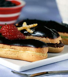 Daring Bakers: Eclairs with Flair