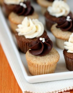 Chai Cupcakes, Two Ways