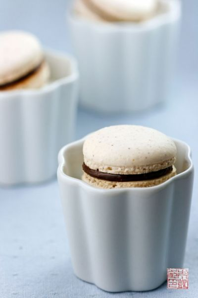 Cupboard Inspiration: Hazelnut Macarons with Homemade Nutella (plus bonus giveaway!) - Dessert First