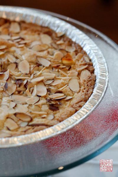 Almond cake - Bake sale tips at dessertfirstgirl.com
