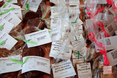 Cookie assortment - Bake sale tips at dessertfirstgirl.com