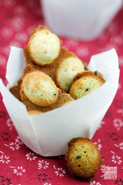 Matcha Eggettes