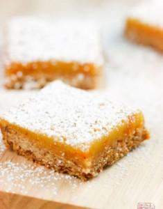 {Cookbook Review} I'm Back! With Apricot Lemon Hazelnut Bars