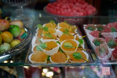 Marzipan fruit in Florence