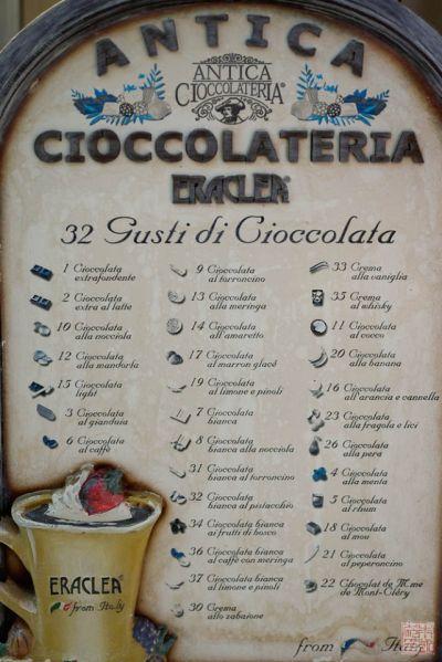santorini oia chocolate