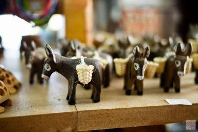 santorini oia donkeys