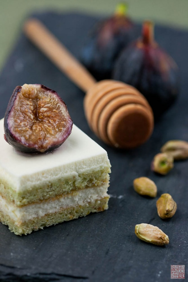 Fig and Pistachio Cake for Fall - Dessert First