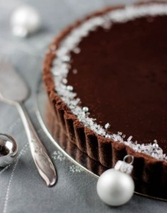 A Chocolate Mint Tart to Round Out the Year