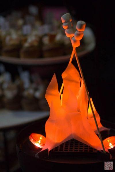 smores fire