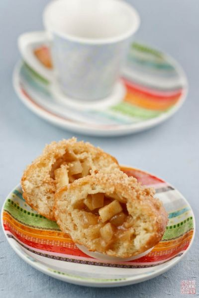 apple crumb donuts interior