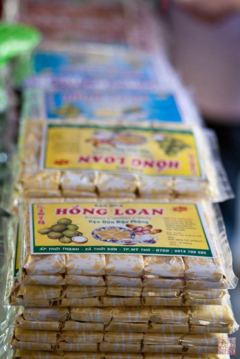 saigon coconut candy package