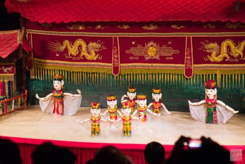 saigon water puppet