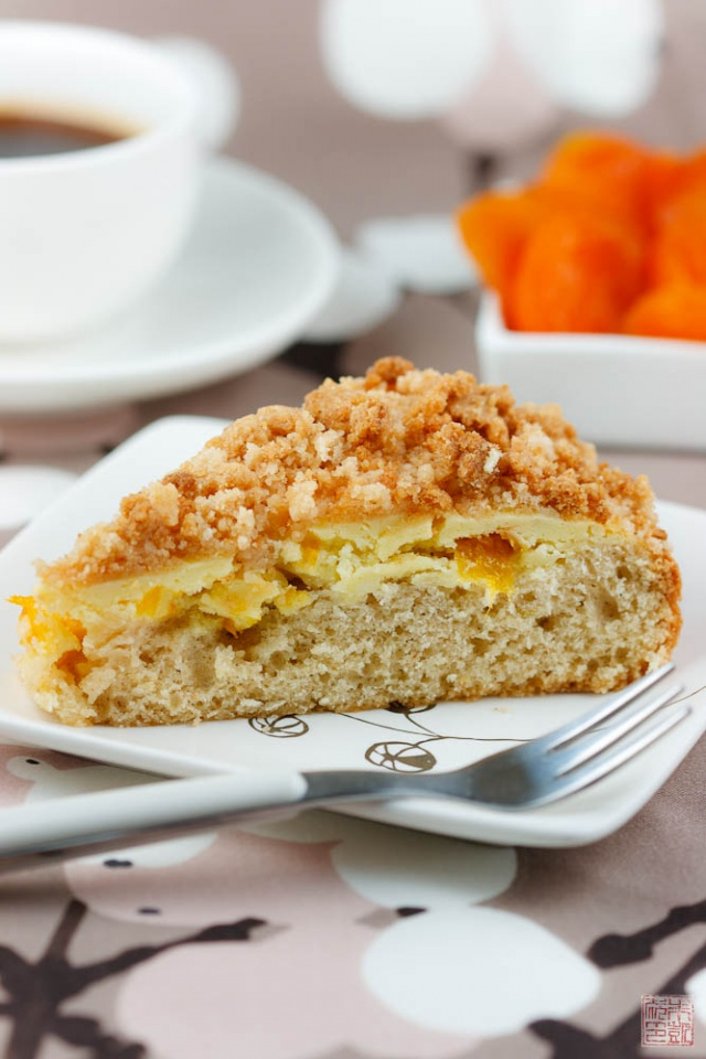 Looking for Sunshine Apricot Crumb Coffee Cake Dessert First