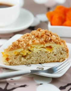 Looking for Sunshine: Apricot Crumb Coffee Cake