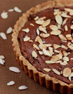 Sated is Ready! and an Almond and Chocolate Frangipane Tart