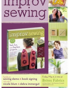 Improv Sewing and Cookies
