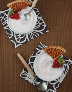 Driscoll's and Roasted Strawberry Ice Cream