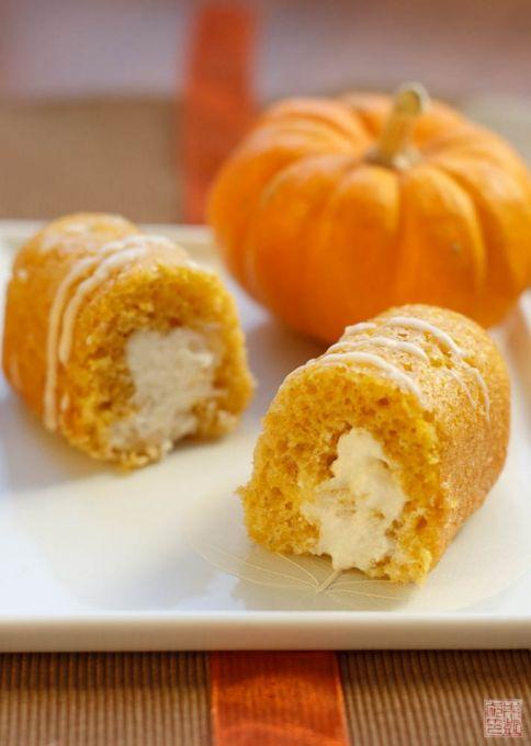 pumpkin twinkie center