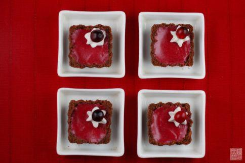 Cranberry Curd Tarts on dessertfirstgirl.com
