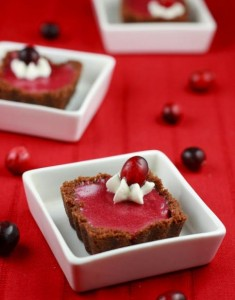 Cranberry Curd Tarts and End-of-Year Contemplation