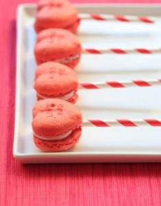 Another Take on Sweethearts: Conversation Heart Macarons