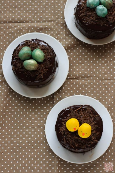 Chocolate Easter Egg Cake