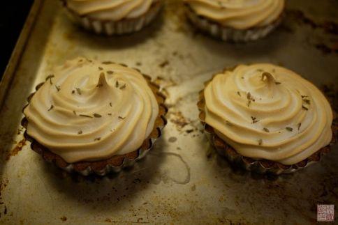Lavender Citrus Tarts on dessertfirstgirl.com