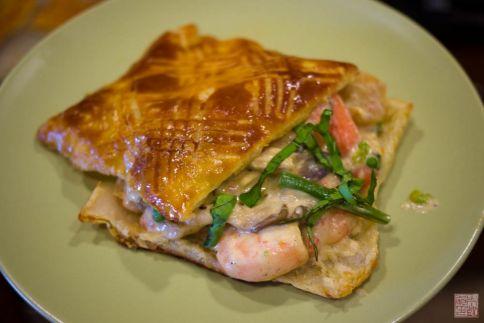Seafood Feuillete on dessertfirstgirl.com