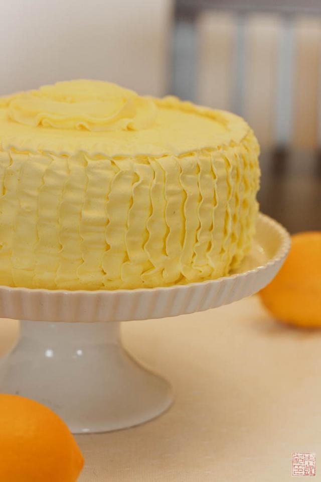A Sunshine Y Cake For Spring Dessert First