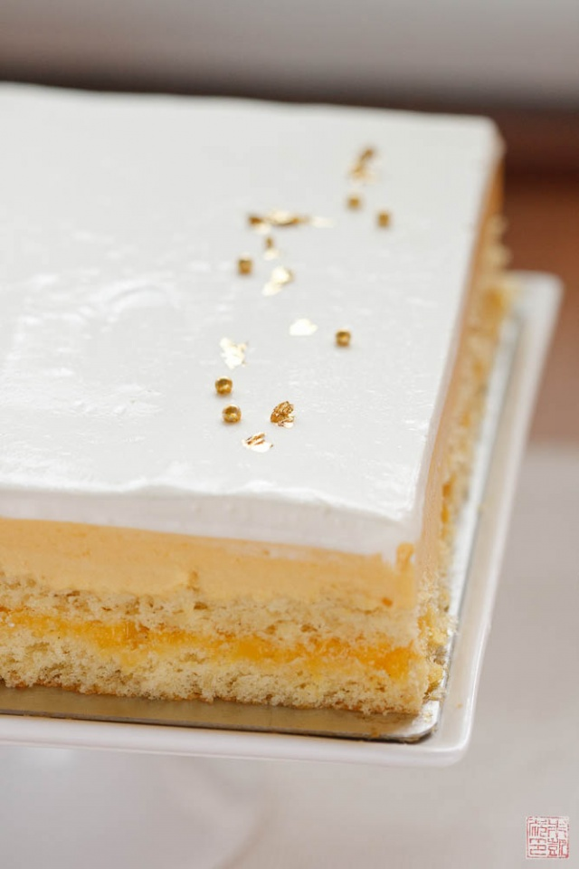 Sponge Cake With Passionfruit Icing Recipe