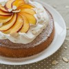 {Giveaway}:Lazy Summer, Iced Tea and Peach Almond Cake
