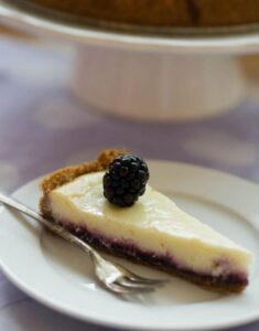Summer Olallieberry Cheesecake For Mom