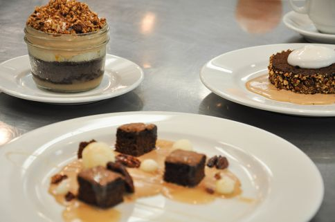 SFCS Pastry Arts 2 finished chocolate desserts with bill corbett