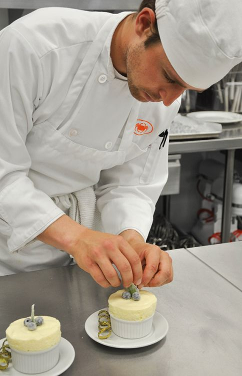 SFCS Pastry Arts Student