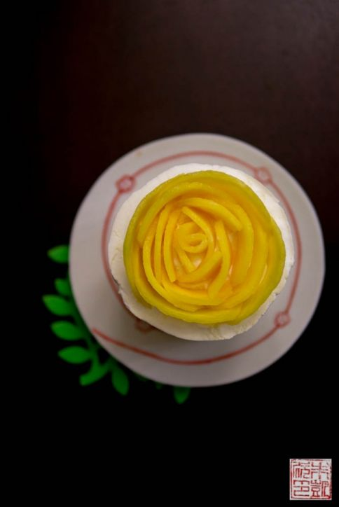 mango mousse rose