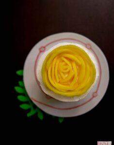 Looking Back, Looking Forward: Mango Mousse Cake