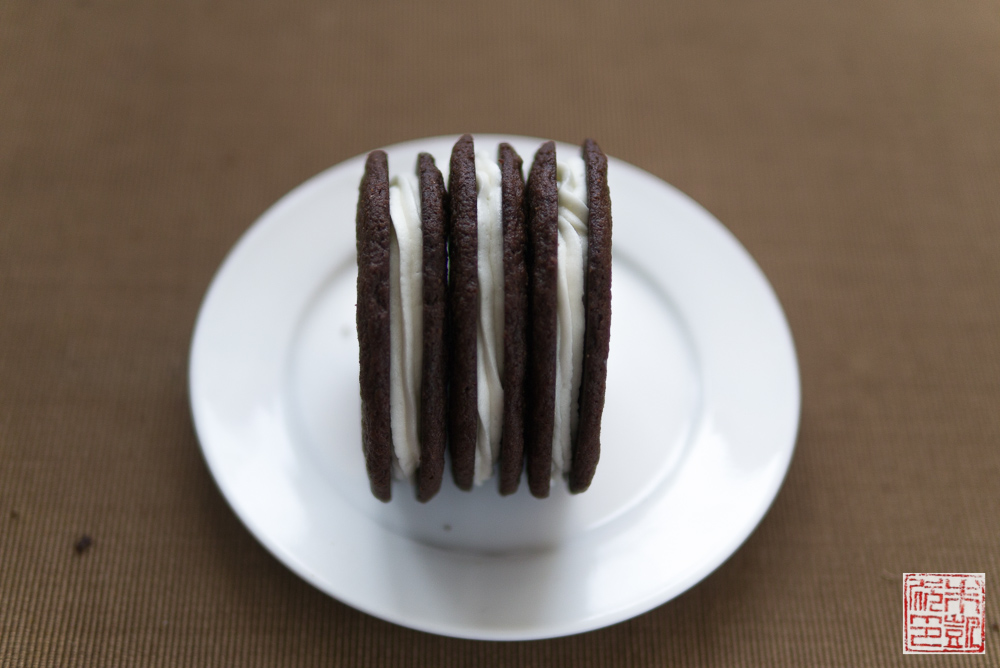 chocolate wafer cookies trio
