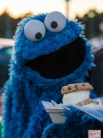 Meeting Cookie Monster