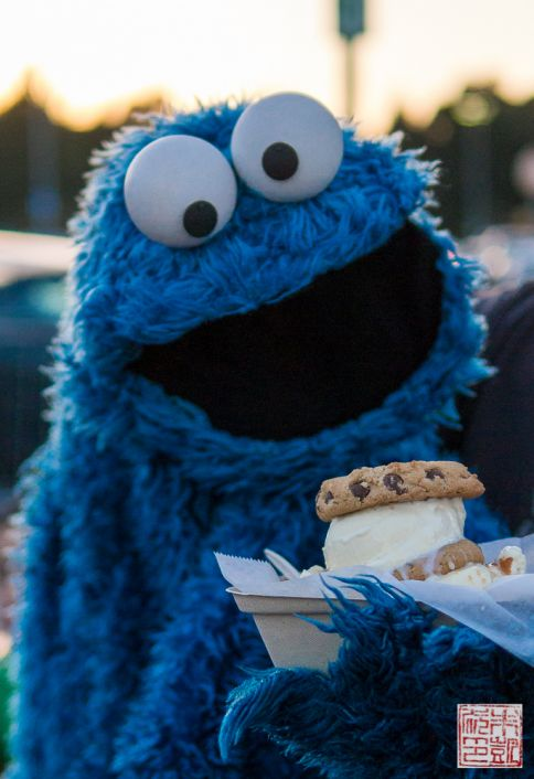 Cookie Monster and the Cookie Monster