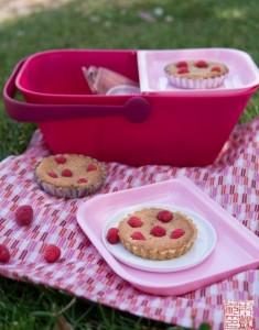 Dessert First + Alessi: Raspberry Hazelnut Frangipane Tartlets