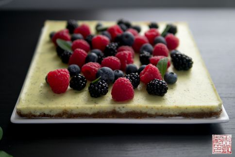 Donna Hay berry slice front
