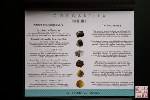 cocoabella executive collection tasting notes