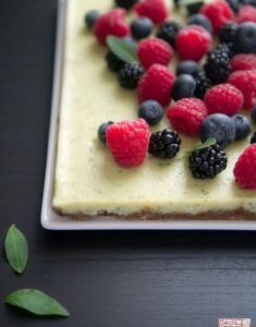 {Quick Cookbook Review}: Donna Hay's Fresh and Light Berry Slice