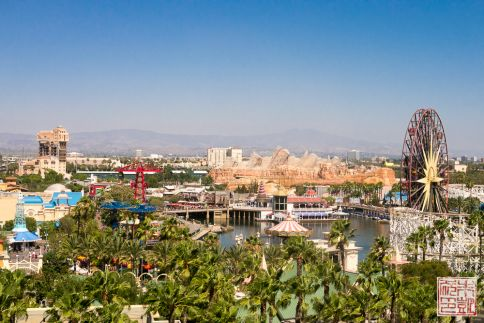 Disneyland California Adventure view