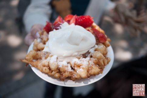SF Street Food Funnel Cake